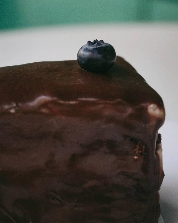 Шоколад и плодове